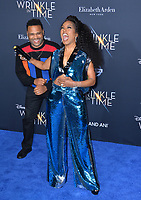 Anthony Anderson &amp; Angela Bassett at the premiere for &quot;A Wrinkle in Time&quot; at the El Capitan Theatre, Los Angeles, USA 26 Feb. 2018<br /> Picture: Paul Smith/Featureflash/SilverHub 0208 004 5359 sales@silverhubmedia.com