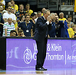 19.06.2019, Mercedes Benz Arena, Berlin, GER, 1.BBL, ALBA ERLIN vs.  FC Bayern Muenchen, <br /> im Bild Cheftrainer Aito Garcia Reneses (ALBA Berlin)<br /> <br />      <br /> Foto © nordphoto / Engler