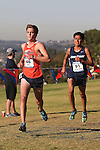 November 2, 2013; Malibu, CA, USA; Pepperdine runner Ben Fox (46) during the WCC Cross Country Championship at Alumni Park.