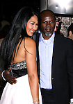 """HOLLYWOOD, CA. - November 09: Designer Kimora Lee Simmons and Actor Djimon Hounsou arrive at the 2008 AFI Film Festival Presents """"Defiance"""" at The ArcLight Cinemas on November 9, 2008 in Hollywood, California."""