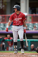 Altoona Curve Bligh Madris (7) at bat during an Eastern League game against the Erie SeaWolves and on June 4, 2019 at UPMC Park in Erie, Pennsylvania.  Altoona defeated Erie 3-0.  (Mike Janes/Four Seam Images)