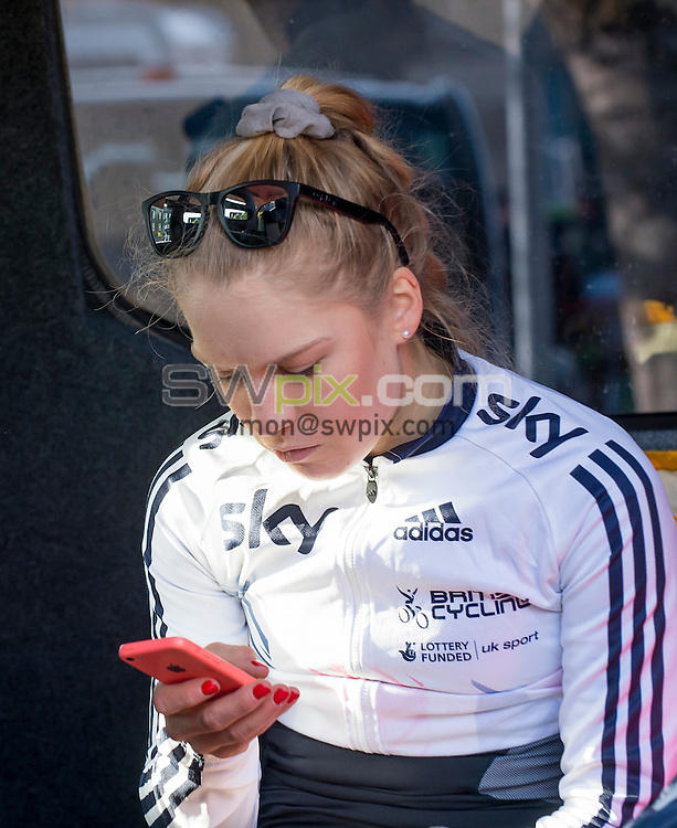 Picture by Allan McKenzie/SWpix.com - 30/04/2016 - Cycling - 2016 Asda Women's Tour de Yorkshire: Otley to Doncaster - Yorkshire, England - Team GB, Evie Richards.