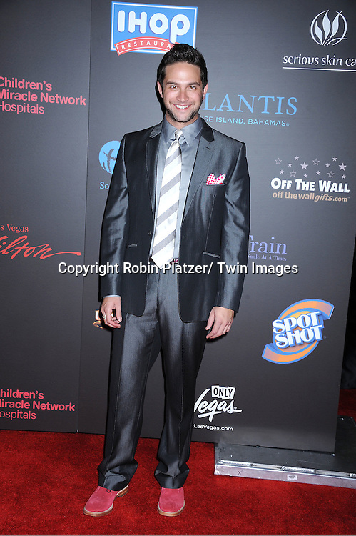 Brandon Barash arriving at the 38th Annual Daytime Emmy Awards  on June 19, 2011 at The Las Vegas Hilton in Las Vegas Nevada. ..