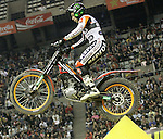 2011 Spain,  SPEA FIM X-Trial Indoor Wolrd Championships In Palau ST. Jordi  in Barcelona on Feb 6th. Toni Bou winer in Barcelona. Picture show Toni Bou ESP