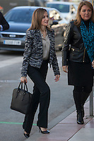 Queen Letizia attends UNICEF board meetin