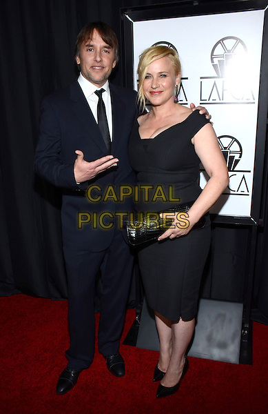 10 January 2015 - Century City, California - Richard Linklater, Patricia Arquette. The 40th Annual Los Angeles Film Critics Association Awards held at InterContinental Los Angeles. <br /> CAP/ADM/TW<br /> &copy;Tonya Wise/AdMedia/Capital Pictures