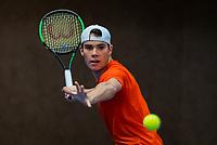 Alphen aan den Rijn, The Netherlands, 25 Januari 2019, ABNAMRO World Tennis Tournament, Supermatch, Final,  Ryan Nijboer  (NED) <br /> <br /> Photo: www.tennisimages.com/Henk Koster