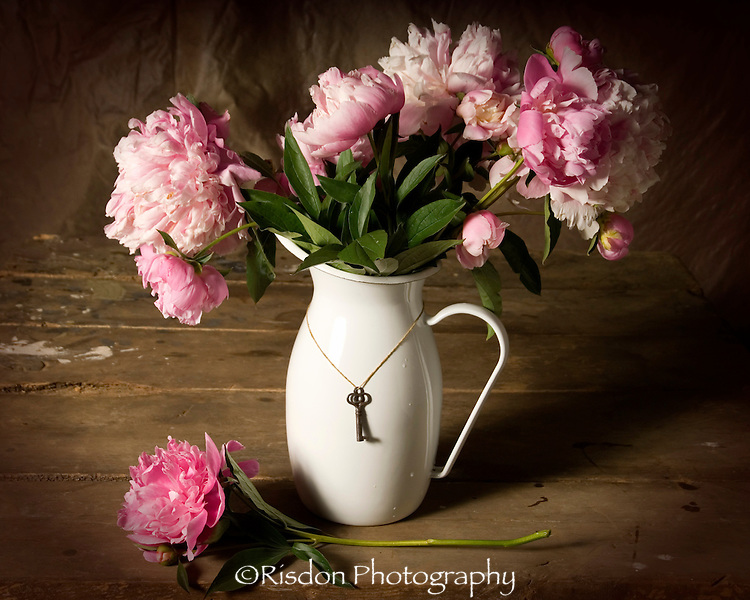 Peonies in Pitcher