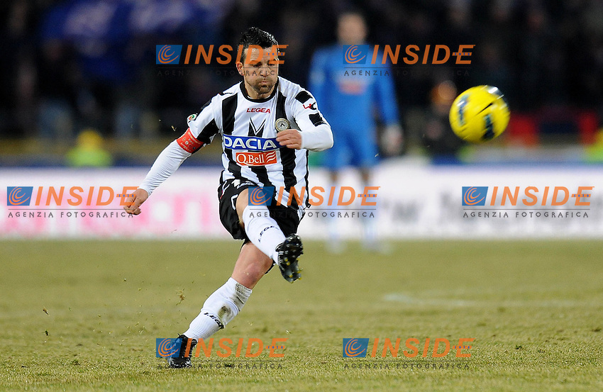 """Antonio DI NATALE (Udinese).Bologna 26/02/2012 Stadio """"Renato Dall Ara"""".Serie A 2011/2012.Football Calcio Bologna Vs Udinese.Foto Insidefoto Alessandro Sabattini."""
