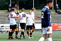 HAREN , Voetbal,  Be Quick - Quick, Derde Divisie zondag seizoen 2017-2018, 17-09-2017, Be Quick viert de 1-0