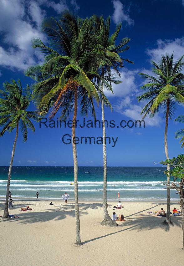 Trinidad & Tobago, Commonwealth, Trinidad, Maracas Bay: famous beach in the north