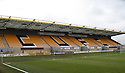 Abbey Stadium before the Blue Square Bet Premier match between Cambridge United and Wrexham at the Abbey Stadium, Cambridge on 22nd January, 2011 .© Kevin Coleman 2011