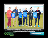 Mitchelstown GC team with Bank of Ireland Official Morgan Whelan and CGI Participation Officer Jennifer Hickey with Junior golfers across Munster practicing their skills at the regional finals of the Dubai Duty Free Irish Open Skills Challenge at the Ballykisteen Golf Club, Limerick Junction, Co. Tipperary. 16/04/2016.<br /> Picture: Golffile | Thos Caffrey<br /> <br /> <br /> <br /> <br /> <br /> All photo usage must carry mandatory copyright credit (© Golffile | Thos Caffrey)