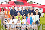 CHERNOBHIL: Children from Chernobhil who were treated to a day out at the Blast from the Past Week-End Festival on Sunday in Ballybunion with members of the Air Sea Rescue and Ballybunion Sea Rescue.Front l-r: Viktoryia Biryla, Kiryl Murbanovich, Llya Karavayerich, Atiaksandr Arashkevich,Ivan Mustsinovich and Volha Toharnyuk. Centre l-r: Lilia Bandatskaye, Vasilisa Moma, Dcmitry Rainsky, Tom Clear, Ihar Kryk,Hanna Veras, Tatsiana Kotsuba.Siobhan Clear and Lilian Banzauck. Back l-r: Teresa Sugrue, TJ McCarron (Ballybunion Sea & Rescue), Capt Mike Scott, Co Pilot Ciaran Parker, Winch Operator Paul Truss, Winchman Brendan Meehan, Frank O'Connor (Ballybunion Sea Rescue) and Joan Griffin.............................................. ....