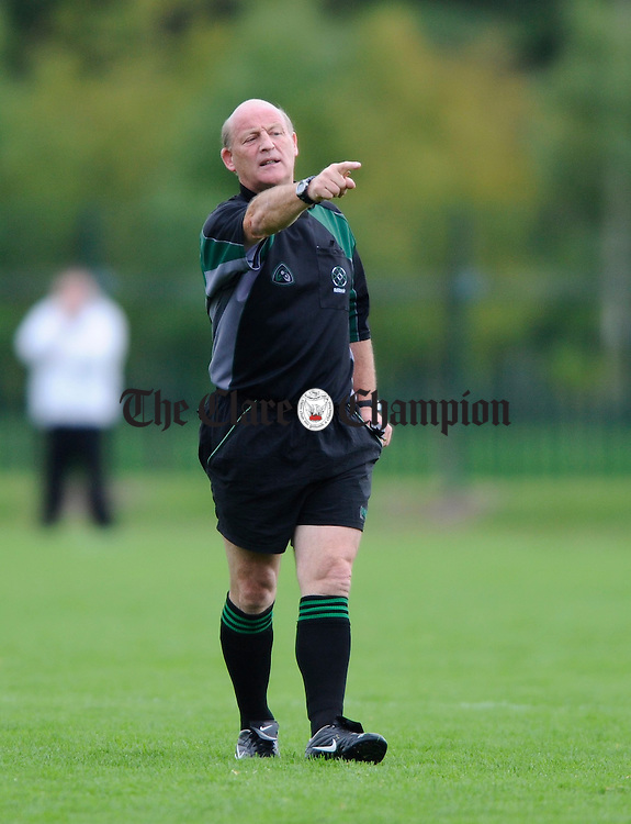 referee Kevin Walsh