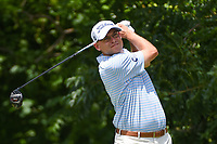 Bill Haas (USA) watches his tee shot on 6 during round 2 of the 2019 Charles Schwab Challenge, Colonial Country Club, Ft. Worth, Texas,  USA. 5/24/2019.<br /> Picture: Golffile   Ken Murray<br /> <br /> All photo usage must carry mandatory copyright credit (© Golffile   Ken Murray)