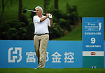 TAIPEI, TAIWAN - NOVEMBER 19:  Marc Farry of France tees off on the 9th tee during day two of the Fubon Senior Open at Miramar Golf & Country Club on November 19, 2011 in Taipei, Taiwan.  Photo by Victor Fraile / The Power of Sport Images