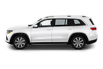 Car Driver side profile view of a 2020 Mercedes Benz GLS GLS450 5 Door SUV Side View
