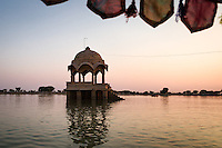 Gadisar Lake, Jaisalmer, Rajasthan, India