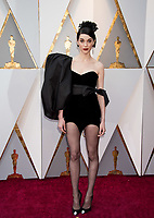 St. Vincent arrives on the red carpet of The 90th Oscars&reg; at the Dolby&reg; Theatre in Hollywood, CA on Sunday, March 4, 2018.<br /> *Editorial Use Only*<br /> CAP/PLF/AMPAS<br /> Supplied by Capital Pictures