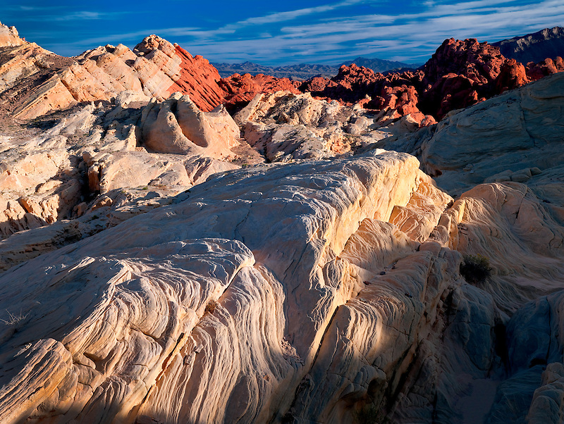 Sedimentary rock layers. Valley of Fire State Park, Nevada