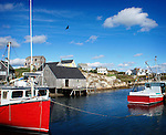 Lunenberg and Peggy's Cove
