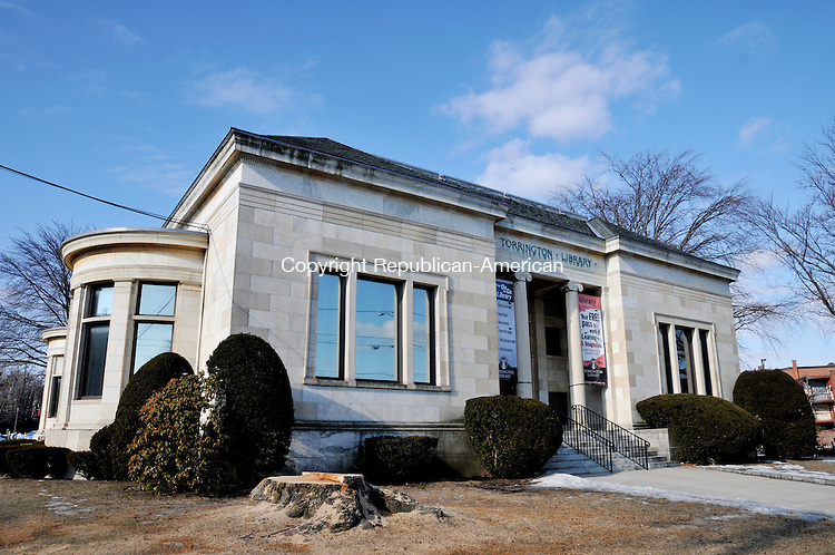 TORRINGTON, CT, 22 JAN 15 - The Torrington Library is planning to expand its building by about 13,000-square-feet.   Alec Johnson/ Republican-American
