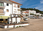 Centre of the village of Galaroza, Sierra de Aracena, Huelva province, Spain