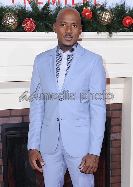 "03 November 2016 - Westwood, California. Romany Malco. Premiere Of Universal's ""Almost Christmas"" held at Regency Village Theatre. Photo Credit: Birdie Thompson/AdMedia"