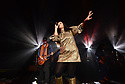 MIAMI BEACH, FLORIDA - NOVEMBER 06: LouLou Ghelichkahani of Thievery Corporation in concert at Fillmore Miami Beach at the Jackie Gleason Theater on November 06, 2019 in Miami Beach, Florida.  ( Photo by Johnny Louis / jlnphotography.com )