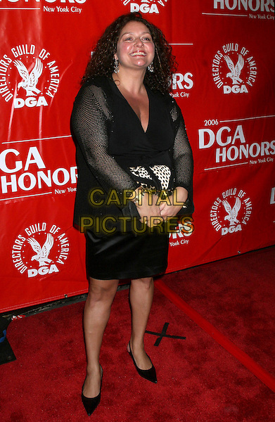 AIDA TURTURRO.2006 DGA Honors Arrivals at the DGA Theater, New York, NY, USA..October 12th, 2006.Ref: IW.full length black skirt jacket.www.capitalpictures.com.sales@capitalpictures.com.©Ian Wilson/Capital Pictures