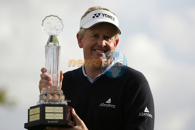 Colin Montgomerie wins the European Open on the 8th of July 2007 at the K Club, Straffan, Co Kildare, Ireland. (Photo by Manus O'Reilly/NEWSFILE)