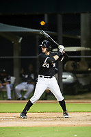 AZL White Sox first baseman Sam Abbott (24) at bat against the AZL Padres on July 31, 2017 at Camelback Ranch in Glendale, Arizona. AZL White Sox defeated the AZL Padres 2-1. (Zachary Lucy/Four Seam Images)