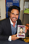 05-31-18 Don Diamont - Bold and The Beautiful signs his book My Seven Sons