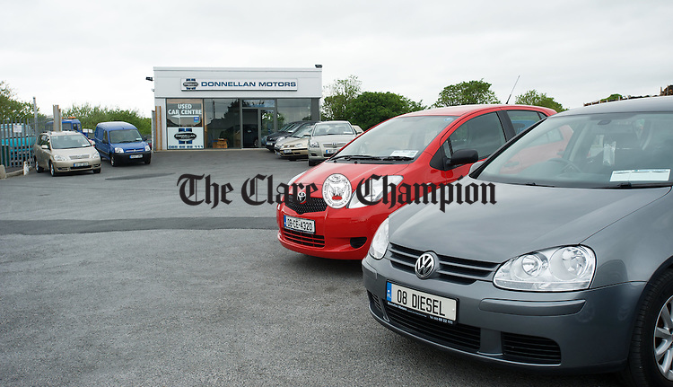 Donnellan's Garage, Lahinch Road, Ennis. Photograph by John Kelly.