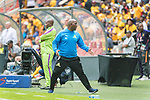 05.01.2019, FNB Stadion/Soccer City, Nasrec, Johannesburg, RSA, Premier League, Kaizer Chiefs vs Mamelodi Sundowns<br /> <br /> im Bild / picture shows <br /> <br /> Pitso Mosimane Trainer<br /> <br /> Einzelaktion, Ganzkörper / Ganzkoerper<br /> Gestik, Mimik,<br /> <br /> Foto © nordphoto / Kokenge