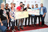 PHILADELPHIA, PA - AUGUST 12 :  All riders pictured at the Kiehl's 7th Annual LifeRide For amfAR at Kiehl's in Philadelphia, Pa on August 12, 2016 photo credit Star Shooter/MediaPunch