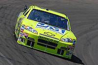 Apr 19, 2007; Avondale, AZ, USA; Nascar Nextel Cup Series driver Paul Menard (15) during practice for the Subway Fresh Fit 500 at Phoenix International Raceway. Mandatory Credit: Mark J. Rebilas
