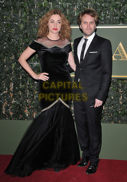 Marine Delterme &amp; Florian Zeller attend the London Evening Standard Theatre Awards 2015, The Old Vic, The Cut, London, England, UK, on Sunday 22 November 2015.<br /> CAP/CAN<br /> &copy;CAN/Capital Pictures