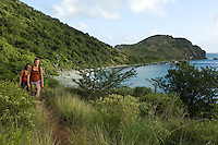 Full moon hike past Salt Pond Bay on the Ram Head trail