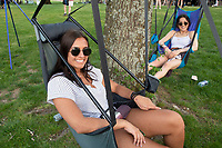 Old Main Music Festival - attendees<br />  (photo by Beth Wynn / &copy; Mississippi State University)