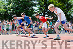 Action from the 6th class 100m semi final at the County Primary schools athletics championships in An Riocht Castleisland on Saturday