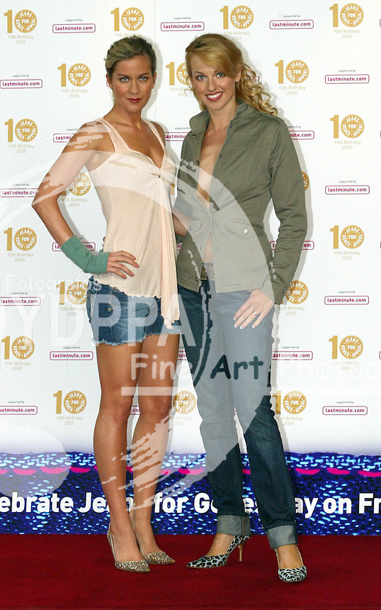 LONDON <br /> PICTURES BY:ROB KEARNEY/EAGLEPRESS<br /> PLEASE CREDIT ALL USES<br /> ----------------------------------<br /> CELEBRITIES ATTENDING TO THE JEANS FOR GENES FASHION SHOW<br /> ----------------------------------<br /> CONTACT:  JAVIER MATEO <br /> 16 NORTH POLE ROAD<br /> LONDON W10 6QL<br /> MOBILE: +44 778651 4443<br /> EMAIL: photos@eaglephoto.co.uk