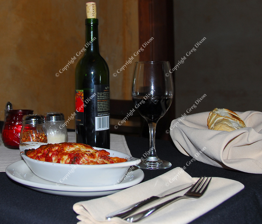 Avanti Italian Restaurant specializes in Italian dishes such as the lasagna, pictured here, as well as pizza, pasta, and ribs