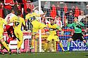 Marcus Haber of Stevenage scores. Stevenage v Bury - npower League 1 -  Lamex Stadium, Stevenage - 29th September, 2012. © Kevin Coleman 2012