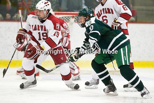 Alex Killorn (Harvard - 19), Matt Reber (Dartmouth - 10) - The Dartmouth College Big Green defeated the Harvard University Crimson 6-2 on Sunday, November 29, 2009, at Bright Hockey Center in Cambridge, Massachusetts.