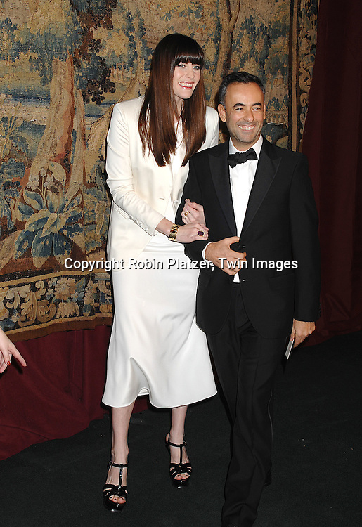 Liv Tyler and Francisco Costa..arriving at The 7th on Sale Black Tie Gala Dinner on ..November 15, 2007 at The 69th Regiment Armory in New York. The Fashion Industry's Battle Against HIV and AIDS..will benefit...Robin Platzer, Twin Images