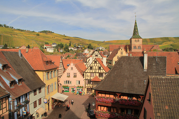 View from the tower in Turckheim, Alsace, France .  John offers private photo tours in Denver, Boulder and throughout Colorado, USA.  Year-round. .  John offers private photo tours in Denver, Boulder and throughout Colorado. Year-round.