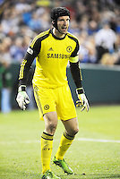 Petr Cech Chelsea goalkeeper..Manchester City defeated Chelsea 4-3 in an international friendly at Busch Stadium, St Louis, Missouri.