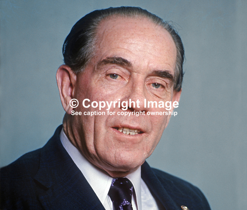 James Tully, TD, Minister for Local Government, Rep of Ireland, March 1975, 197503000180b<br /> <br /> Copyright Image from Victor Patterson, 54 Dorchester Park, Belfast, UK, BT9 6RJ<br /> <br /> Tel: +44 28 9066 1296<br /> Mob: +44 7802 353836<br /> Voicemail +44 20 8816 7153<br /> Email: victorpatterson@me.com<br /> Email: victorpatterson@gmail.com<br /> <br /> IMPORTANT: My Terms and Conditions of Business are at www.victorpatterson.com